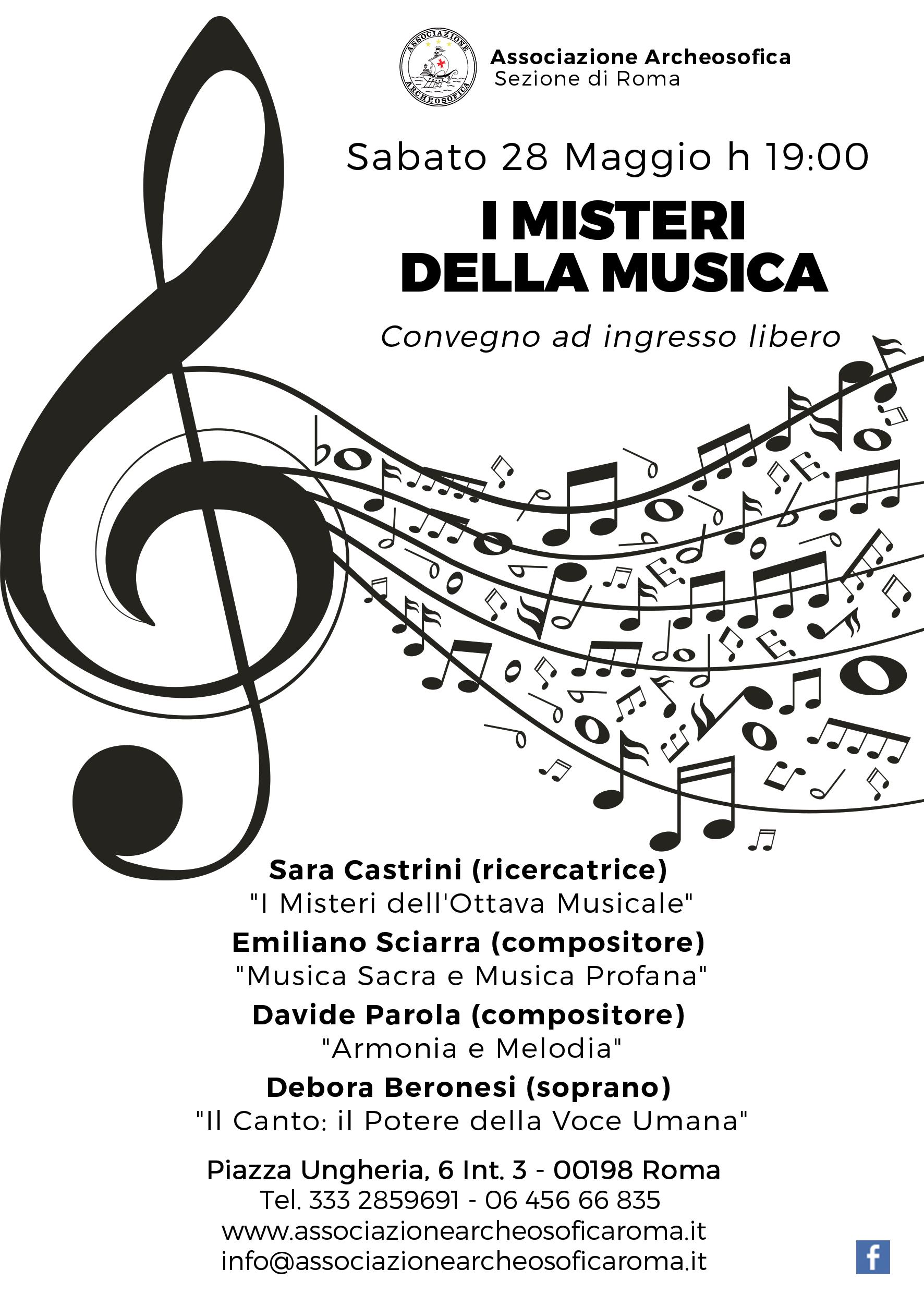 i misteri della musica